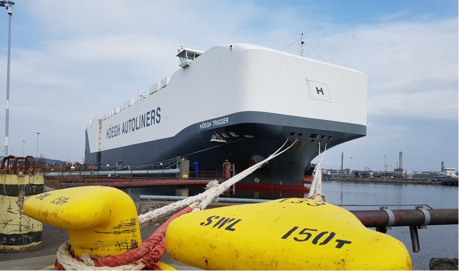 Skandinaviens största hamn får ny frakt linje