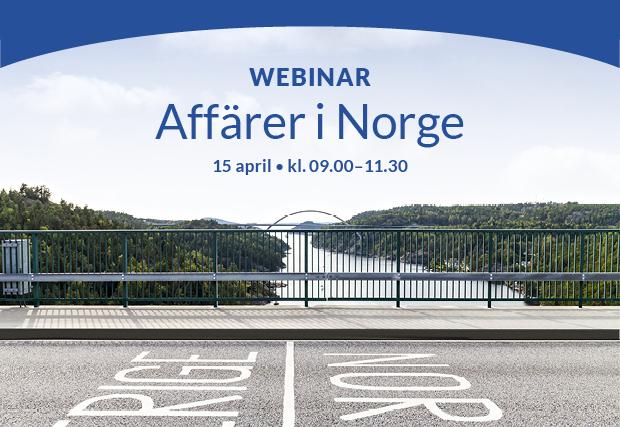AFFÄRER I NORGE – BOKA 15 april